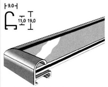рамка для фото алюминиевая